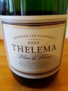 Thelema Blanc de Blancs 2012