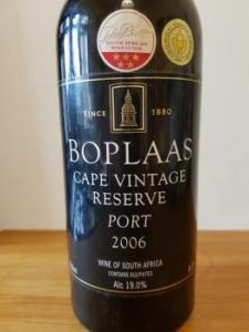 Boplaas Cape Vintage Reserve Port 2006