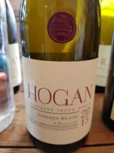 Hogan Chenin Blanc 2015