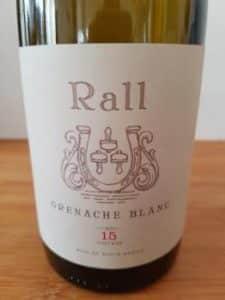 Rall Grenache Blanc 2015