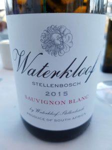 Waterkloof Sauvignon Blanc 2015