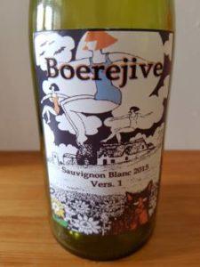 Boerejive Vers. 1 Sauvignon Blanc 2015