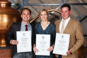 Steyn, Visser and Louw. Image courtesy of Wine.co.za.