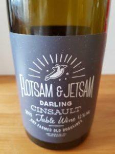 Flotsam &  Jetsam Cinsault 2015