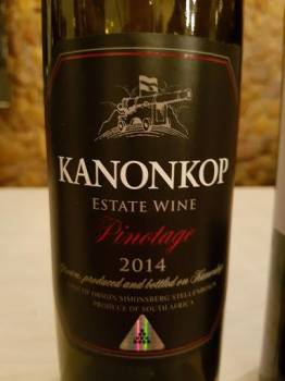 The best red wine in South Africa?