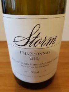 Storm Vrede Chardonnay 2015