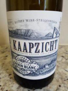Kaapzicht Kliprug Bush Vine Chenin Blanc 2015