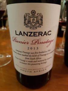 Lanzerac Pionier Pinotage 2013