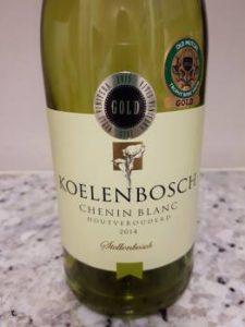 Koelenbosch Houtverouderd Chenin Blanc 2014