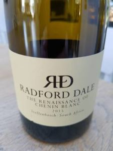 Radford Dale The Renaissance of Chenin Blanc 2015, Radford Dale The Renaissance of Chenin Blanc 2015