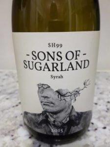 Sons of Sugarland Syrah 2015