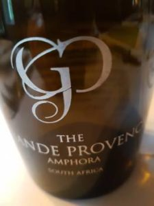 The Grande Provence Amophora 2015
