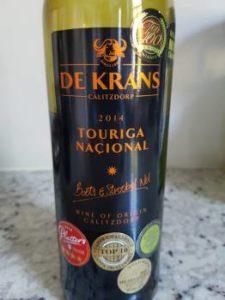 De Krans Touriga Nacional 2014