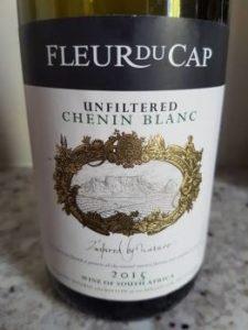 Fleur du Cap Unfiltered Chenin Blanc 2015