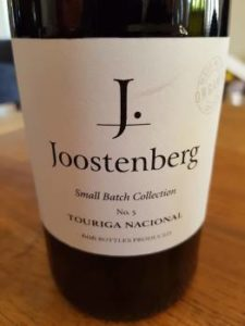 Joostenberg Small Batch Collection Touriga Nacional 2015, Joostenberg Small Batch Collection Touriga Nacional 2015