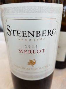 Steenberg Merlot 2013, Steenberg Merlot 2013