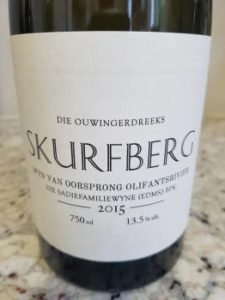 The Old Vine Series Skurfberg 2015