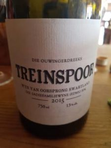 The Old Vine Series Treinspoor 2015
