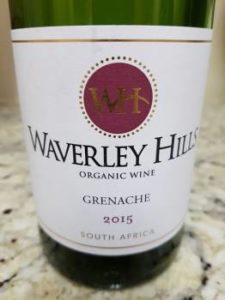Waverley Hills Grenache 2015