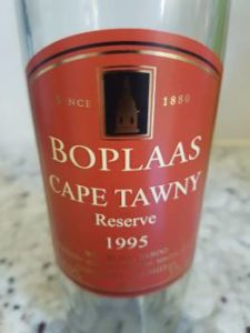 Boplaas Cape Tawny Reserve 1995