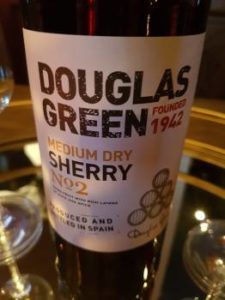 Douglas Green Medium Dry Sherry No. 2