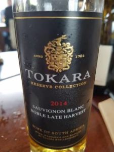 Tokara Reserve Collection Noble Late Harvest 2014