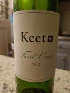 Keet First Verse 2012