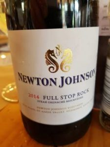Newton Johnson Full Stop Rock 2014