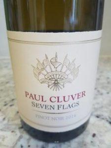 Paul Cluver Seven Flags Pinot Noir 2014