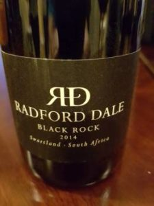 Radford Dale Black Rock 2014