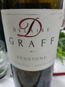 Delaire Graff Redstone 2015