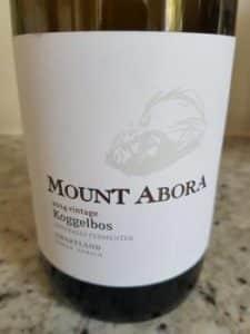 Mount Abora Koggelbos Chenin Blanc 2014