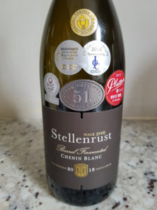 Stellenrust 51 Barrel Fermented Chenin Blanc 2015