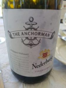 Nederburg The Anchorman Chenin Blanc 2015, Nederburg The Anchorman Chenin Blanc 2015