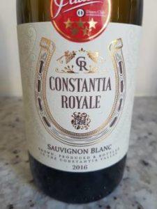 Constantia Royale Sauvignon Blanc 2016