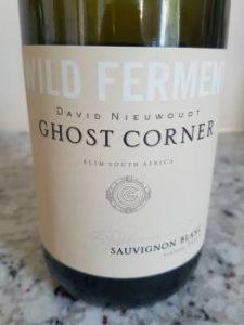 David Nieuwoudt Ghost Corner Wild Ferment Sauvignon Blanc 2015, David Nieuwoudt Ghost Corner Wild Ferment Sauvignon Blanc 2015