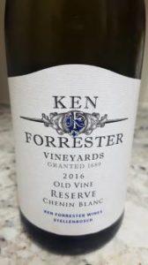 Ken Forrester Old Vine Reserve Chenin Blanc 2016, Ken Forrester Old Vine Reserve Chenin Blanc 2016