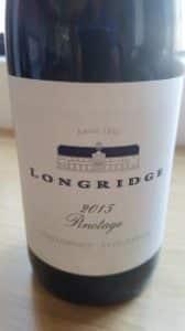 Longridge Pinotage 2015