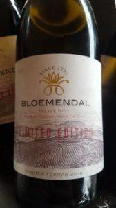 Bloemendal Suider Terras Sauvignon Blanc 2015