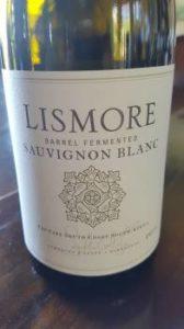 Lismore Barrel Fermented Sauvignon Blanc 2015