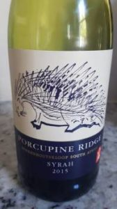 Porcupine Ridge Syrah 2015