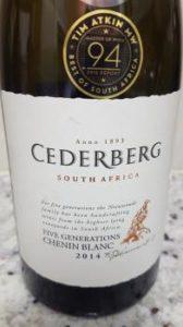 Cederberg Five Generations Chenin Blanc 2014
