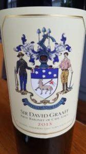 De Grendel Sir David Graaff 2013