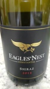 Eagles' Nest Shiraz 2014