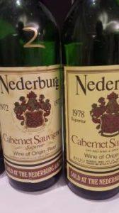 Nederburg Cabernet Sauvignon 1978