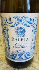 Baleia Erhard Pinot Noir 2014