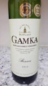 Boplaas Gamka Family Reserve 2015