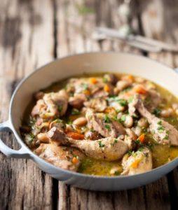 Chicken and butter bean casserole