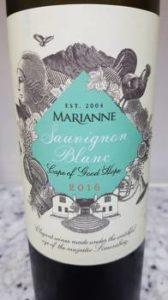 Marianne Sauvignon Blanc 2016