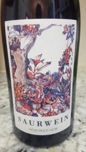 Saurwein Nom Pinot Noir 2016